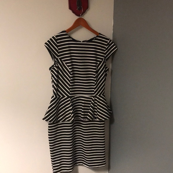 Mossimo Supply Co. Dresses & Skirts - Mossimo Black and White Stripes Dress